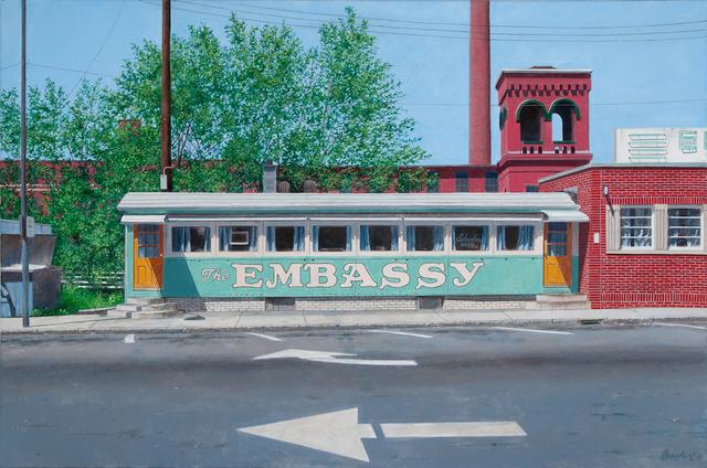 , 'The Embassy,' 2011-2012, Bernarducci Gallery