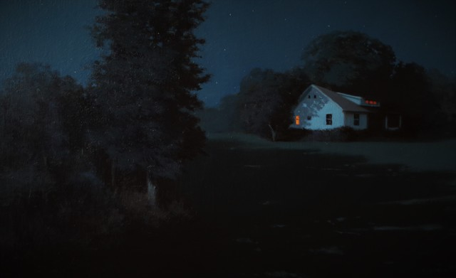 , 'Moonlit Country House,' 2016, Grenning Gallery