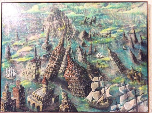 Artem Mirolevich, 'Sunken City Babylon', Urbaniza Studio Gallery