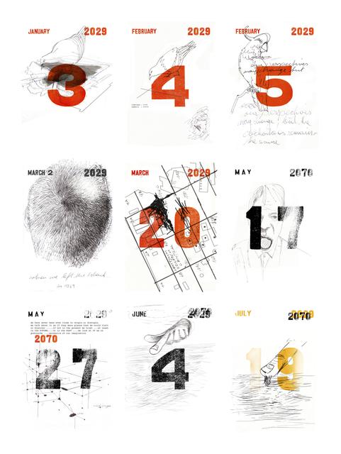 , 'Timeline 2071, Sequenz 001,' 2018, Galerie Krinzinger