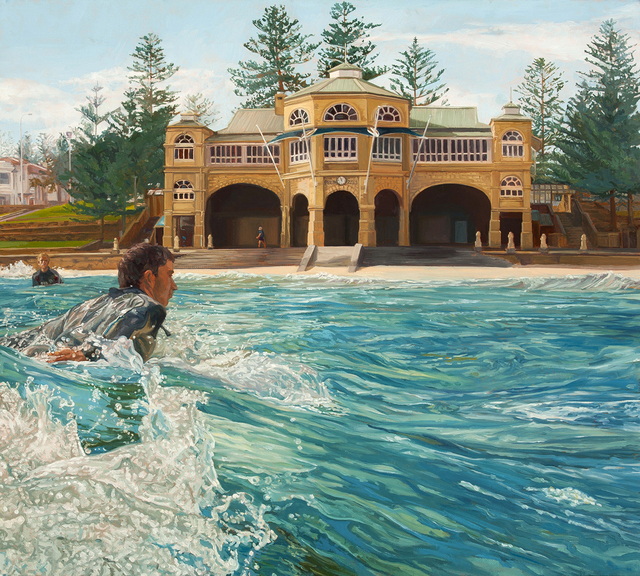 , 'Winter Surf at the Teahouse,' 2013, Charles Nodrum Gallery