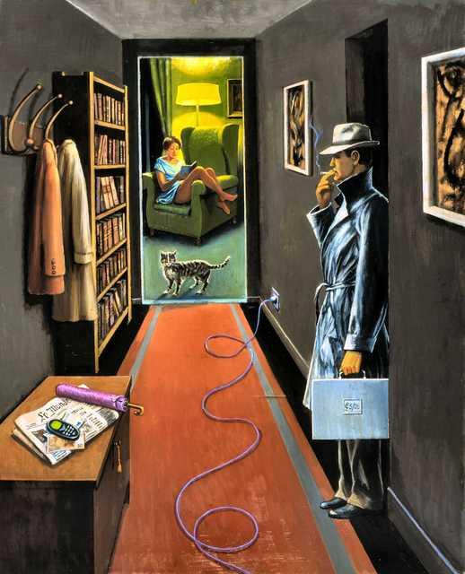 , 'Intérieur, soir,' 2006, Jean-Marie Oger