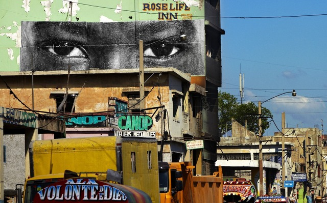JR, 'Inside Out, Haiti', 2012, JR Studio
