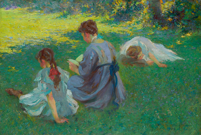 , 'On the Lawn,' 1908, Questroyal Fine Art