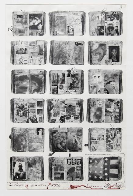 Peter Beard, 'Bicentennial Diaries (A)', 1996, Fahey/Klein Gallery