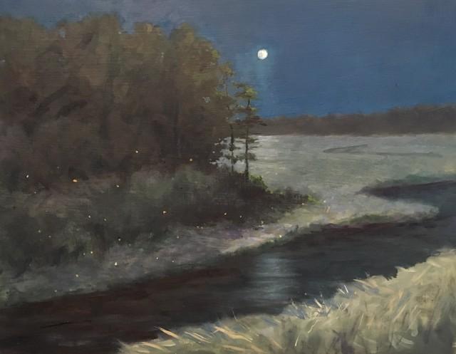 , 'Night Lights II,' 2017, Peninsula Gallery