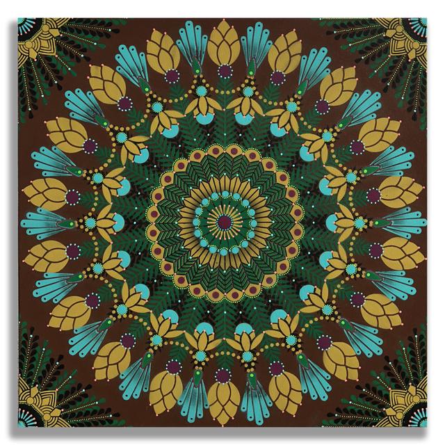 , 'Kaleidoscopic Nature 14,' 2018, Jonathan LeVine Projects