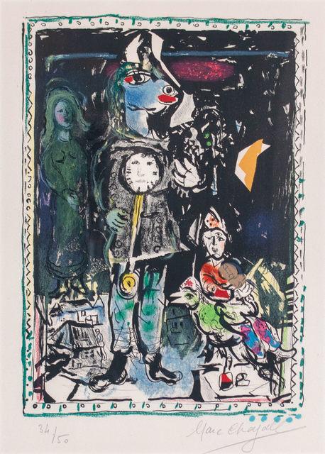 Marc Chagall, 'Paysan avec une Horloge', 1968, WOLFS