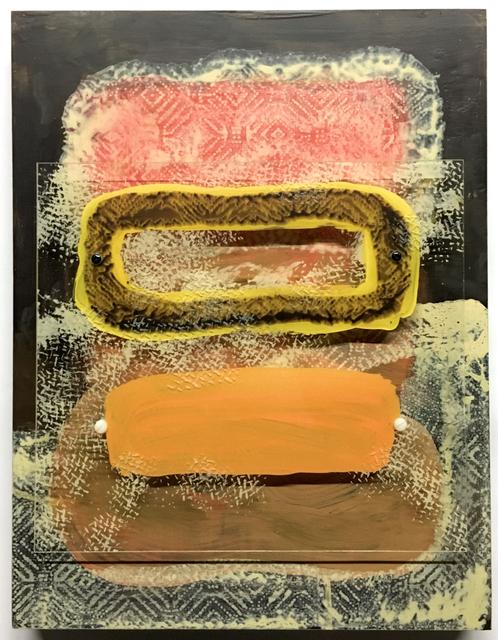 , 'Stacking and Floating: Brown, Yellow, Orange,' 2017, Massey Lyuben Gallery