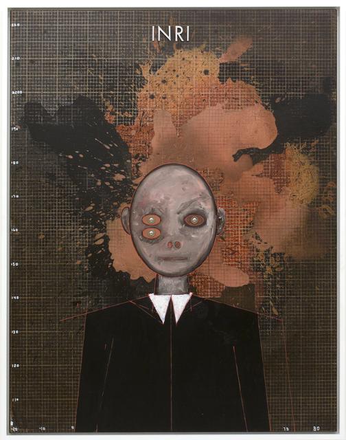 , 'A.o:: INRI (The Measurement of Sensation),' 2017, Galerie Krinzinger