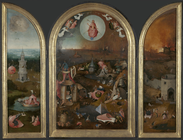 , 'The Last Judgment Triptych,' 1505-1515, Museo Nacional del Prado