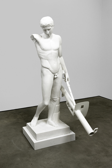 Ian Hamilton Finlay, 'Man With Panzerschreck', 1993, David Nolan Gallery