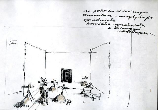 , 'Let artists perish: my child's room,' 1985, Galerie Isabella Czarnowska