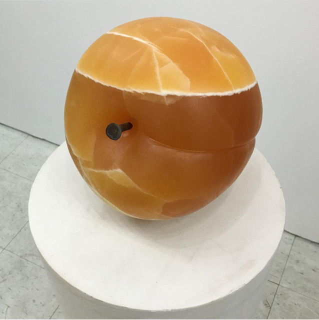 , 'Peach Object,' 2016, M+B