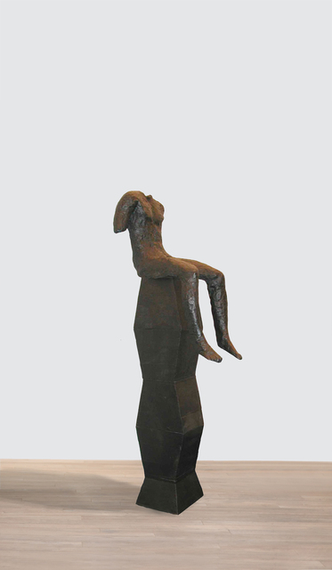 , 'Sitting Figure on Tall Base,' 2001, Beck & Eggeling