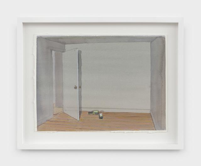 , 'Studio and Shoes I,' 2019, Rachel Uffner Gallery