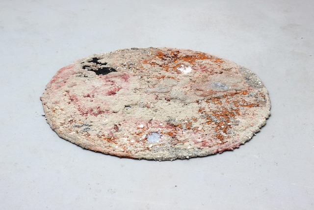, ''hello gravel' mat,' 2018, Galerie Guido W. Baudach