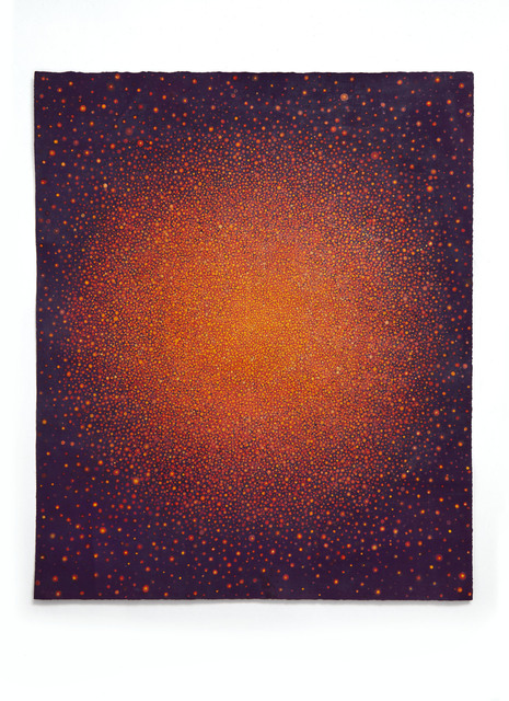 , 'Untitled (Orange Sun on Purple) ,' 2016, P.P.O.W