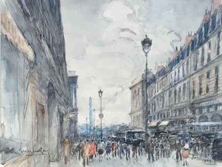 Georges Rose, 'La rue de la paix', DIGARD AUCTION