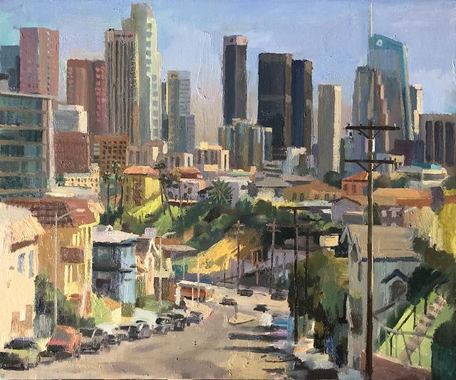 Alex Schaefer, 'LA Skyline from Everett Park', 2019, Castelli Art Space