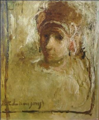 , 'Estudio de Joven,' ca. 1930, Pan American Art Projects