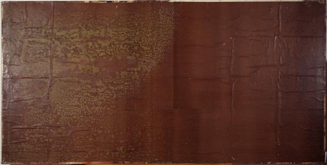 , 'Large brown blank,' 1980, CARDI GALLERY