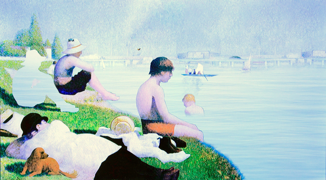 , 'Crossover Seurat,' 2009, Donghwa Ode Gallery