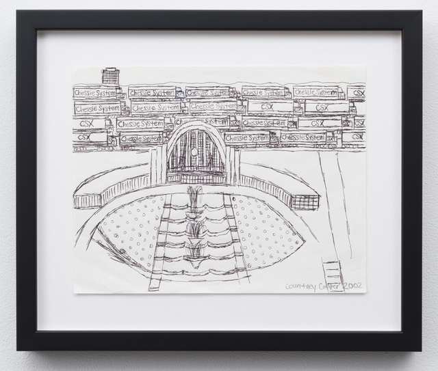 , 'Union Terminal and Train Yard,' 2002, Western Exhibitions