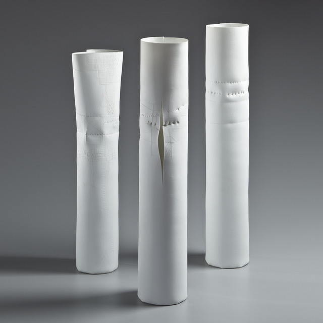, 'Porcelain 83-A, 83-B, and 88,' 1983, LACOSTE / KEANE GALLERY