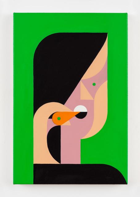, 'Having a Carrot ,' 2019, Rachel Uffner Gallery