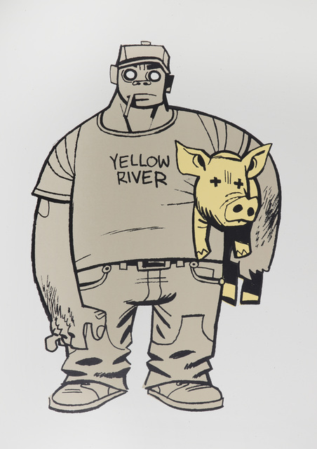 Jamie Hewlett, 'Russel', 2004, Print, Screenprint in colours on art paper, Chiswick Auctions
