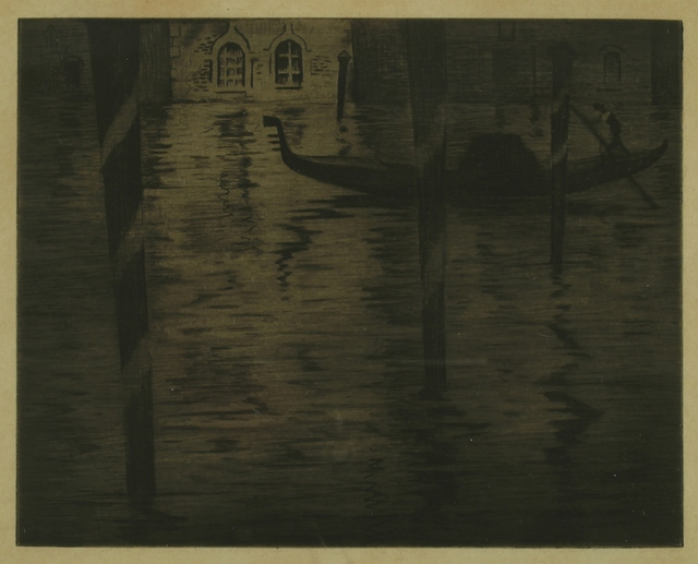 Christopher Richard Wynne Nevinson, 'Venice', ca. 1920, Private Collection, NY