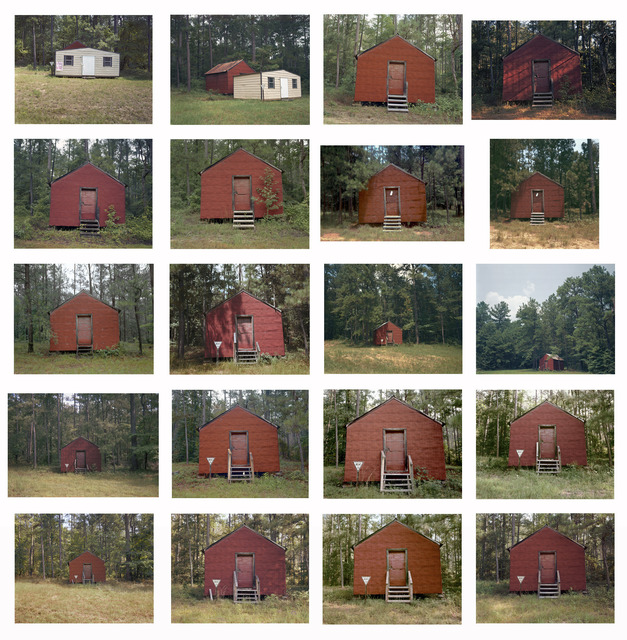 , 'Red Building in Forest, Hale County, Alabama,' 1974-2004, Pace/MacGill Gallery
