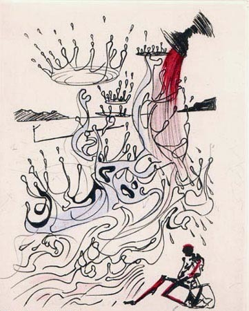 Salvador Dalí, 'Fleuve D'Abondance (The River of Plenty)', 1967, Print, Etching on Japon Paper, Puccio Fine Art
