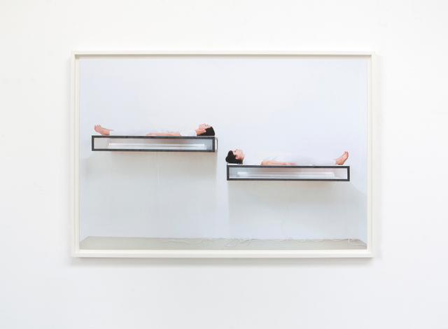 , 'Interruption (Duo),' 2018, Galerie Krinzinger