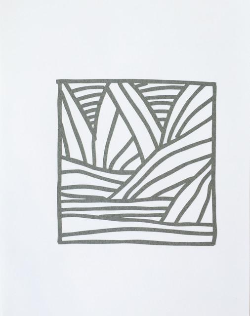 , 'Cutout Drawing 1,' 2019, Reynolds Gallery