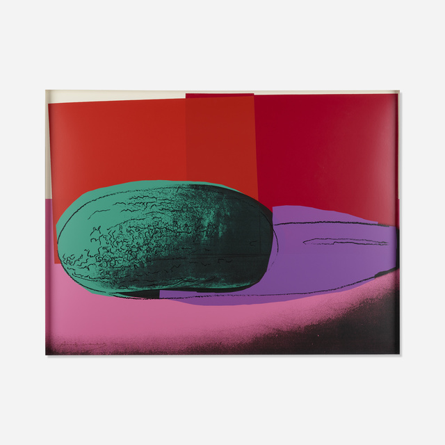 Andy Warhol, 'Watermelon from Space Fruit: Still Lifes', 1979, Print, Screenprint in colors, Rago/Wright