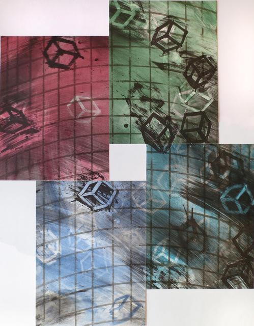 , 'Four Color Quartets, Third Quartet,' 1990, Gallery Neptune & Brown