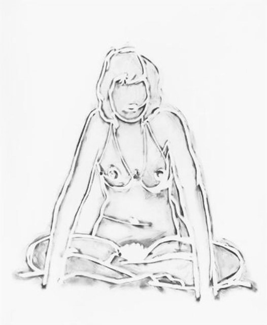 , 'Monica Sitting Crossed-Legged,' , Untitled Projects