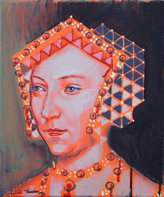 , 'Jane Seymour (after Holbien) ,' 2019, Secret Art Ltd.