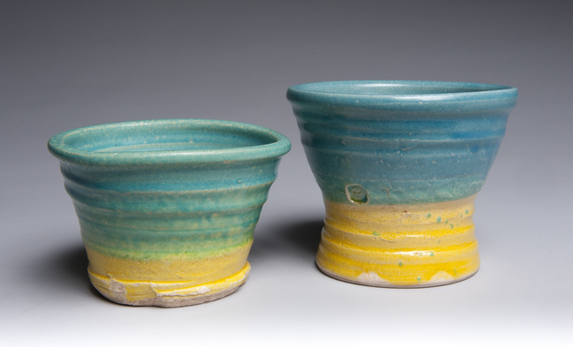 , 'Turquoise and Yellow Bowls,' , Lacoste Gallery