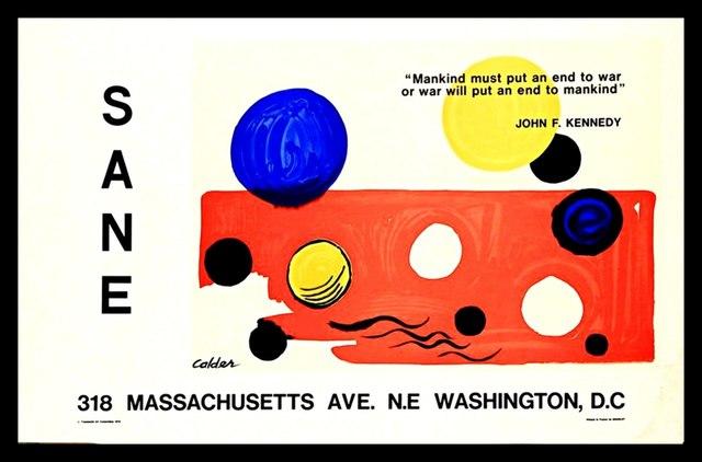 ", '""Mankind Must Put an End to War..."" - JFK,' 1975, Alpha 137 Gallery"