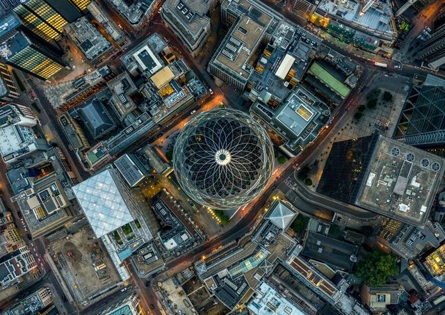 , 'Gherkin - London Aerials,' 2016, ARTITLEDcontemporary