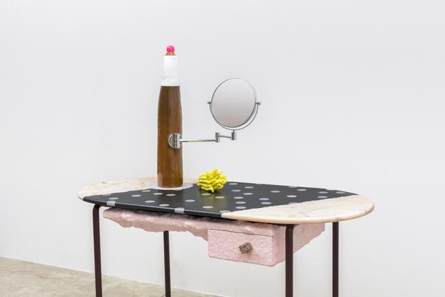 , 'Pink Mondi with Bomba Lamp,' 2018, Friedman Benda