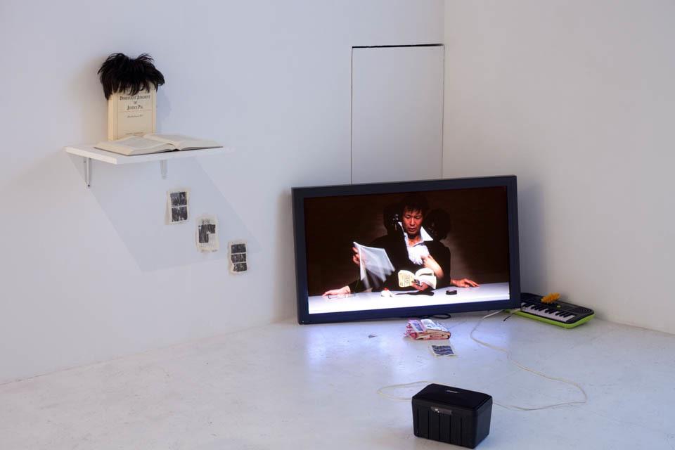 """Identity VIII"" installation view at nca | nichido cotemporary art, 2012 photo by Kei Okano"