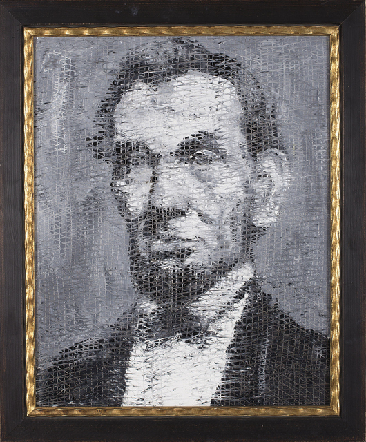 , 'Abe,' 2013, Madison Gallery