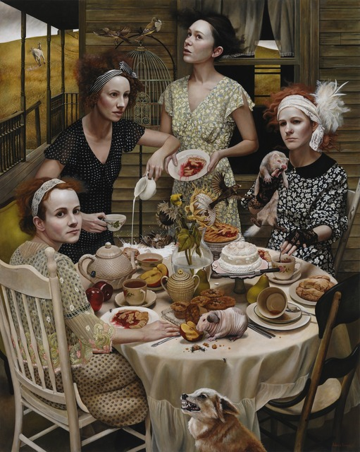 Andrea Kowch, 'An Invitation - Limited Edition Signed Print,' , RJD Gallery