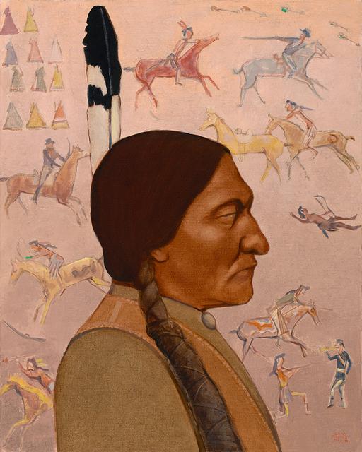 ", '""Sitting Bull"",' 2018, Maxwell Alexander Gallery"