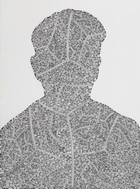 , 'Divided Man 10,' 2016, Miller Yezerski Gallery
