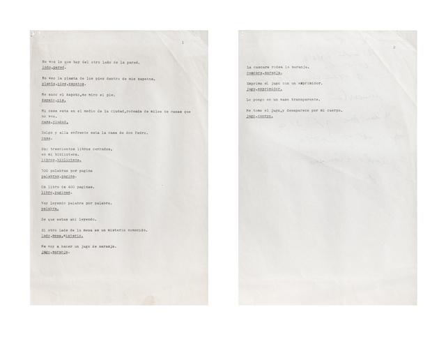 , 'Sin título,' 1986-1993, Henrique Faria | Buenos Aires